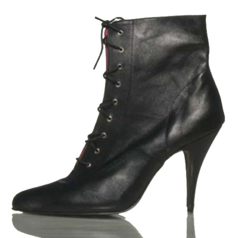 Zapato de tacon alto y plataforma Oxford-P2
