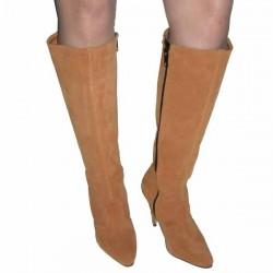High Heel Overknee-Stiefel mit Schnürsenkel Denver 55